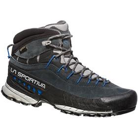 La Sportiva TX4 GTX Mid Chaussures Femme, carbon/cobalt blue
